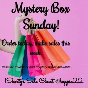 Mystery, reseller and inventory boxes available!